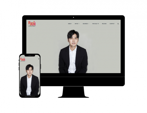 FAN 팬 엔터테인먼트 | 웹사이트 디자인